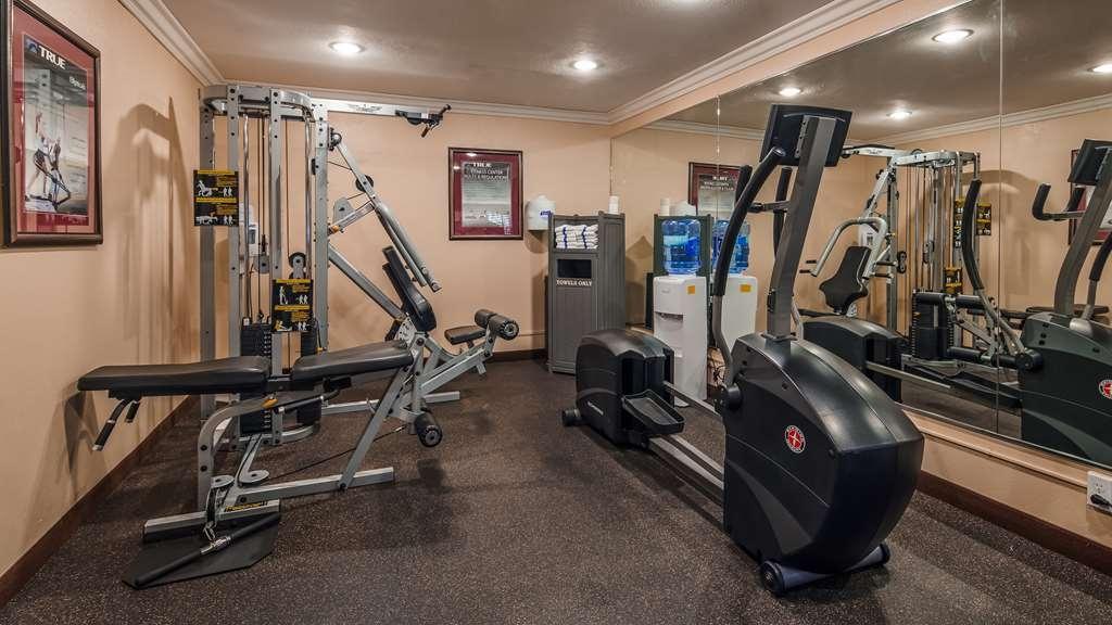 Best Western Plus Orchid Hotel & Suites - Fitnessstudio
