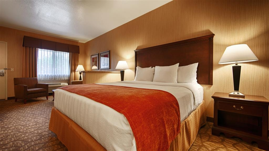 Best Western San Dimas Hotel & Suites - Camera con letto king size