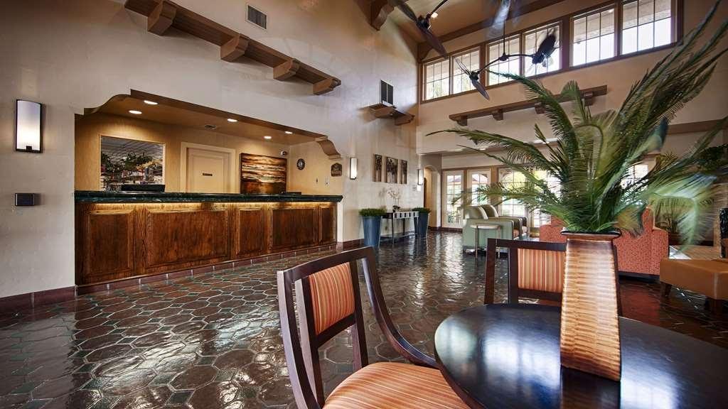 Best Western San Dimas Hotel & Suites - Front Desk & Lobby