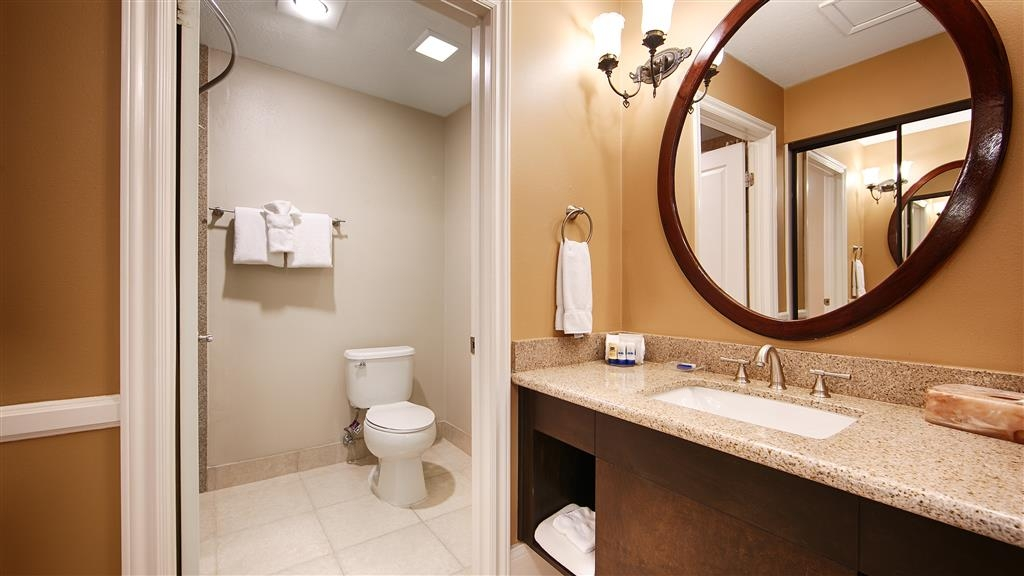 Best Western Plus San Pedro Hotel & Suites - Get ready for the day in our newly renovated bathrooms.