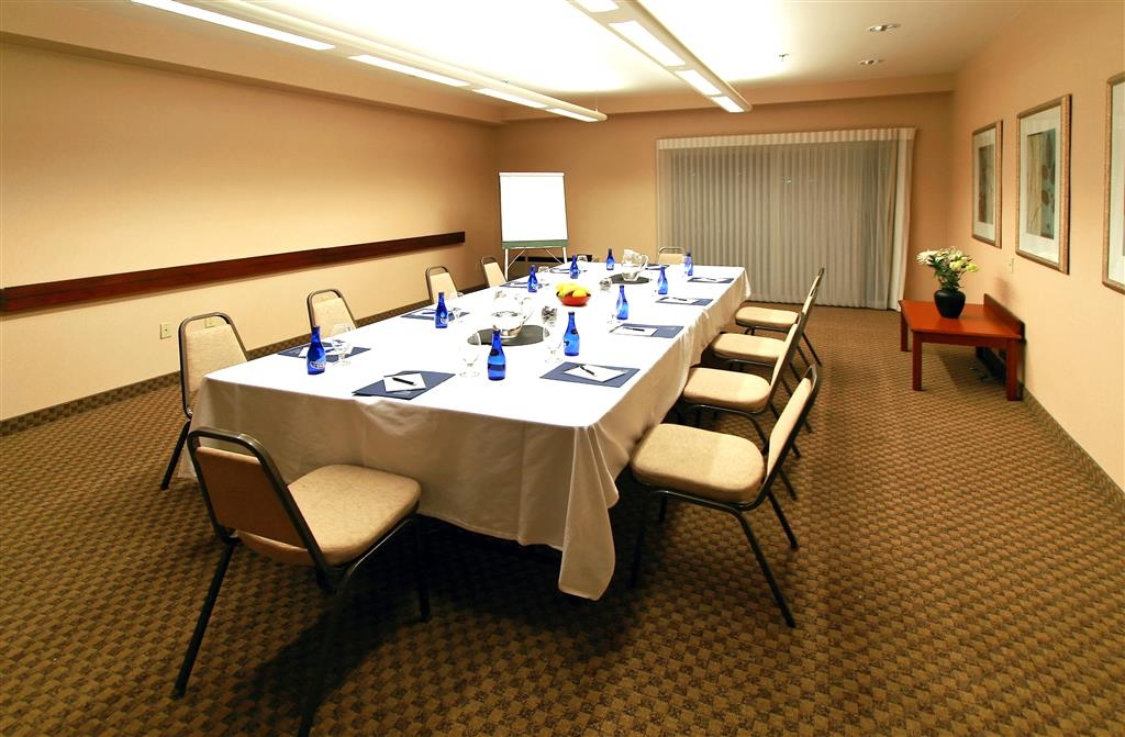 Best Western Plus Bayside Hotel - The Lighthouse Room features the water view, and access to the outside. Marble credenza is available for food and beverage service.