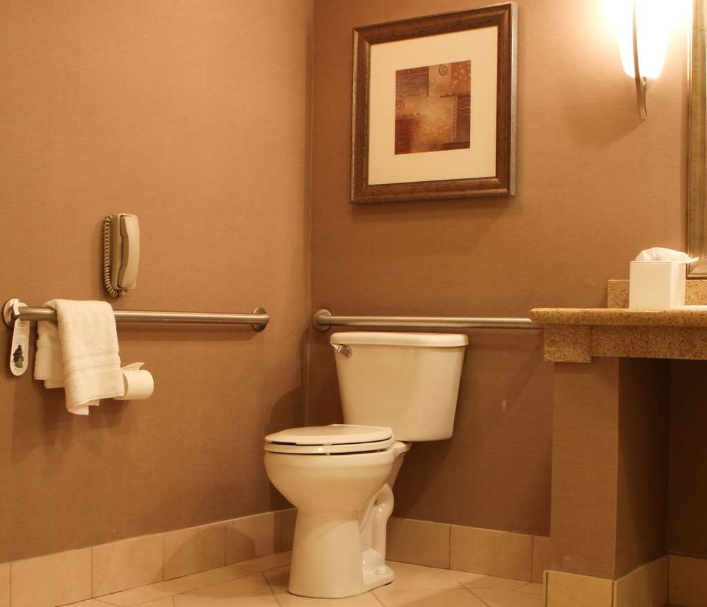Best Western Plus Bayside Hotel - Guest Room with raised toilet