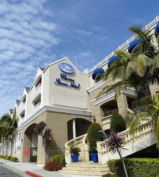 Best Western Plus Marina Shores Hotel - Vista Exterior