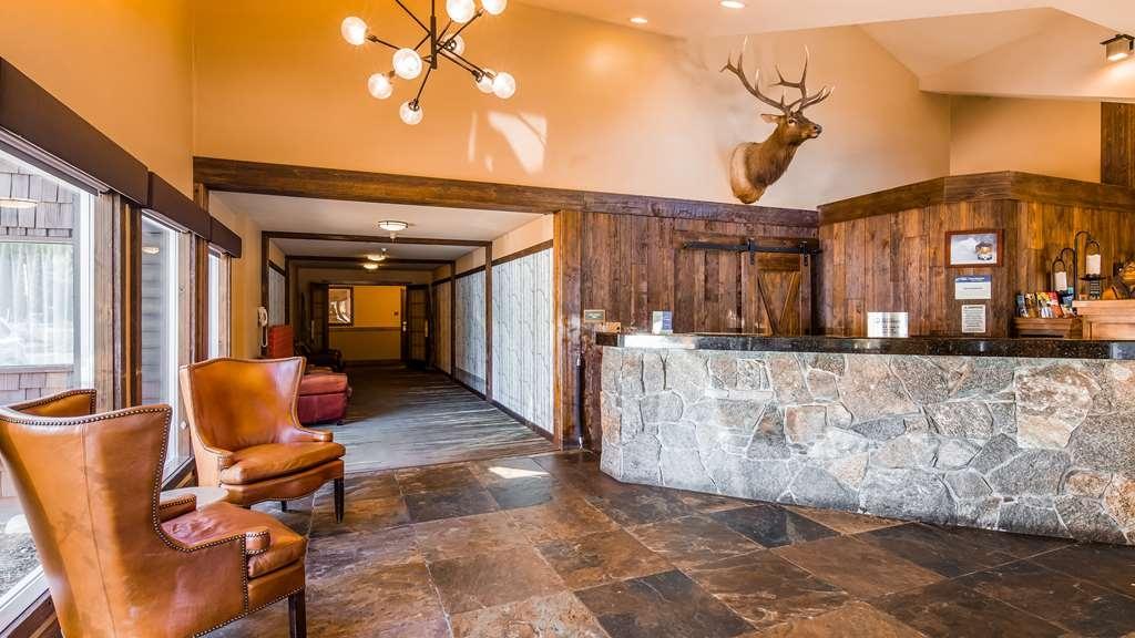 Best Western Plus Truckee-Tahoe Hotel - Vue du lobby