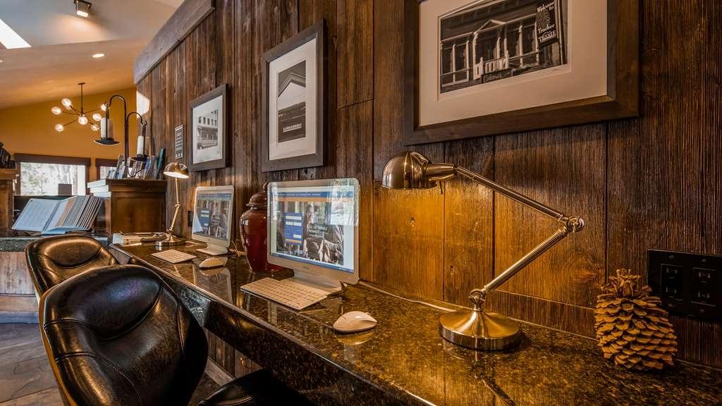 Best Western Plus Truckee-Tahoe Hotel - centre des affaires