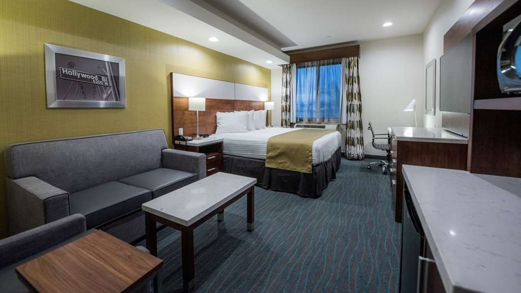 Best Western Plus Gardena Inn & Suites - King Bed Guest Room
