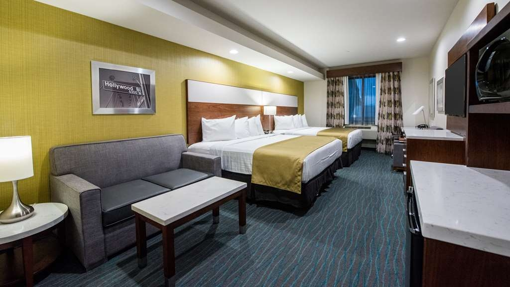 Best Western Plus Gardena Inn & Suites - Two Queen Bed Guest Room