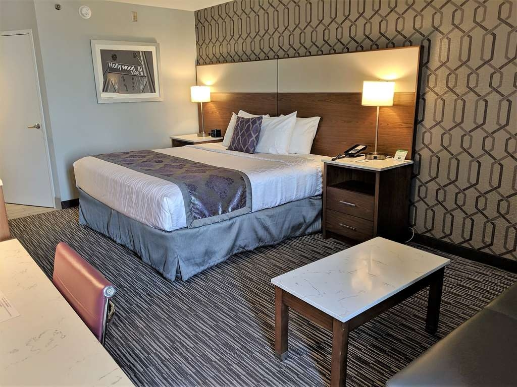 Best Western Plus Commerce Hotel - Single King Guest Room
