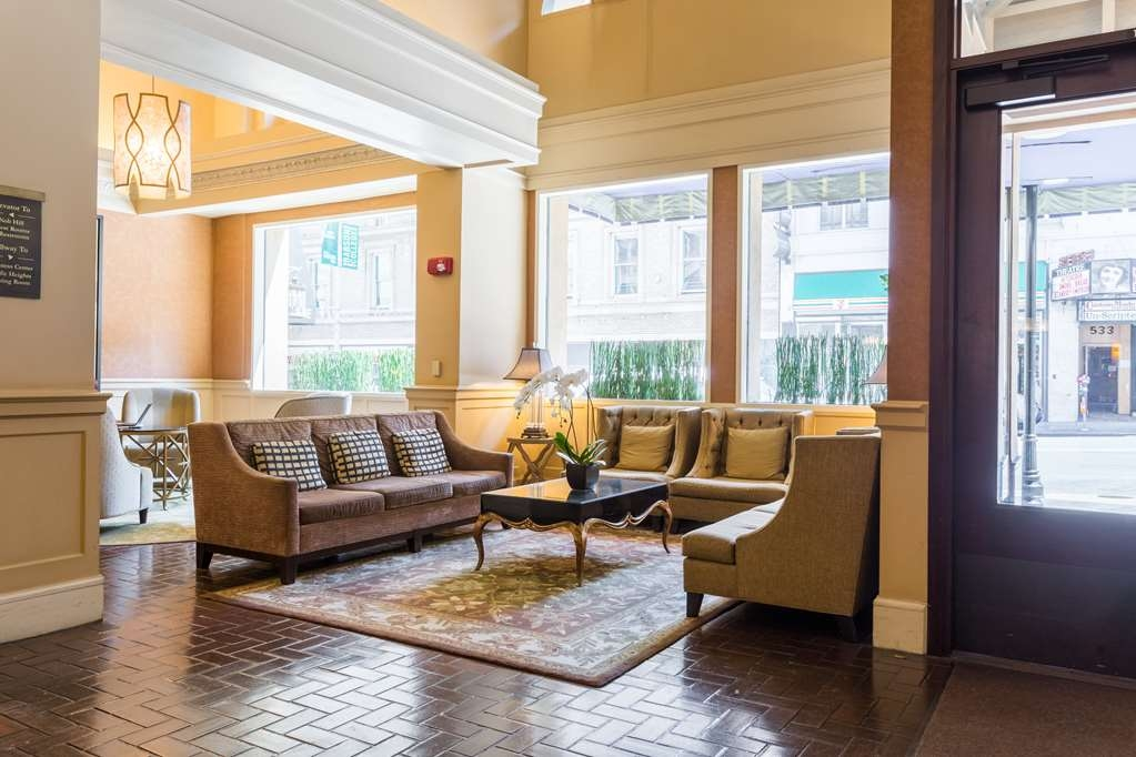 The Cartwright Hotel - Union Square, BW Premier Collection - Relax in our cozy lobby sitting area.