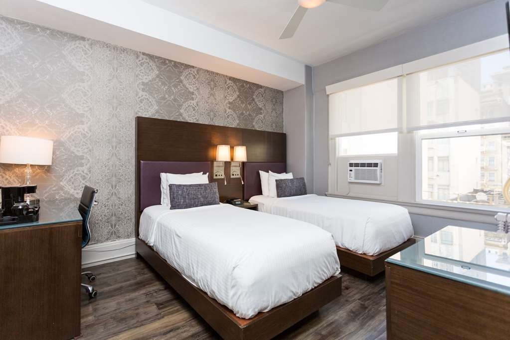 The Cartwright Hotel - Union Square, BW Premier Collection - Two Single Bed Guest Room