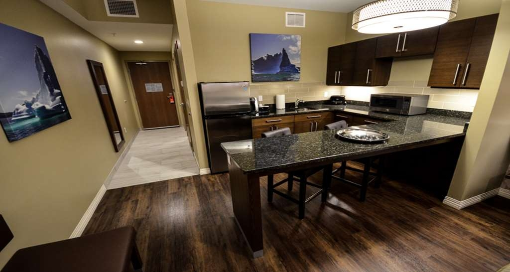 Best Western Plus St. John's Airport Hotel and Suites - King Extended Stay Kitchen