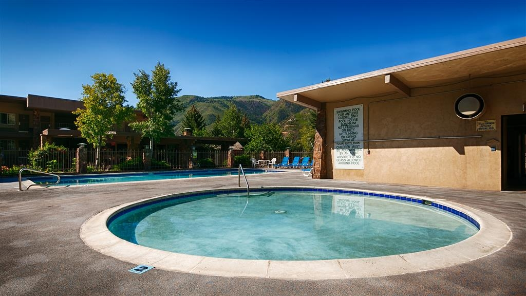 Best Western Antlers - The pool area is perfect for adults and kids - perfect spot to relax after a day of seeing the sights.