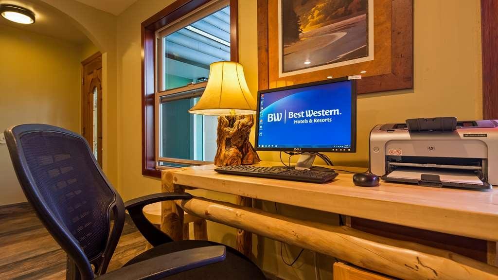Best Western Ptarmigan Lodge - Geschäft-zentrum