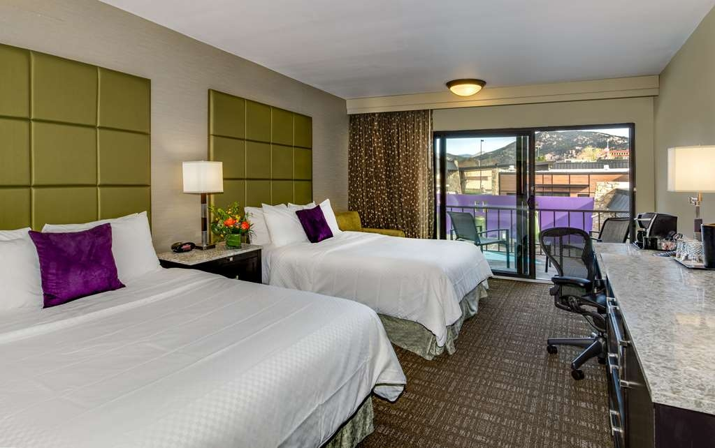 Best Western Plus Boulder Inn - Our rooms have two queen beds. Sumptuous accommodations feature all the amenities that the business or leisure traveler would expect.