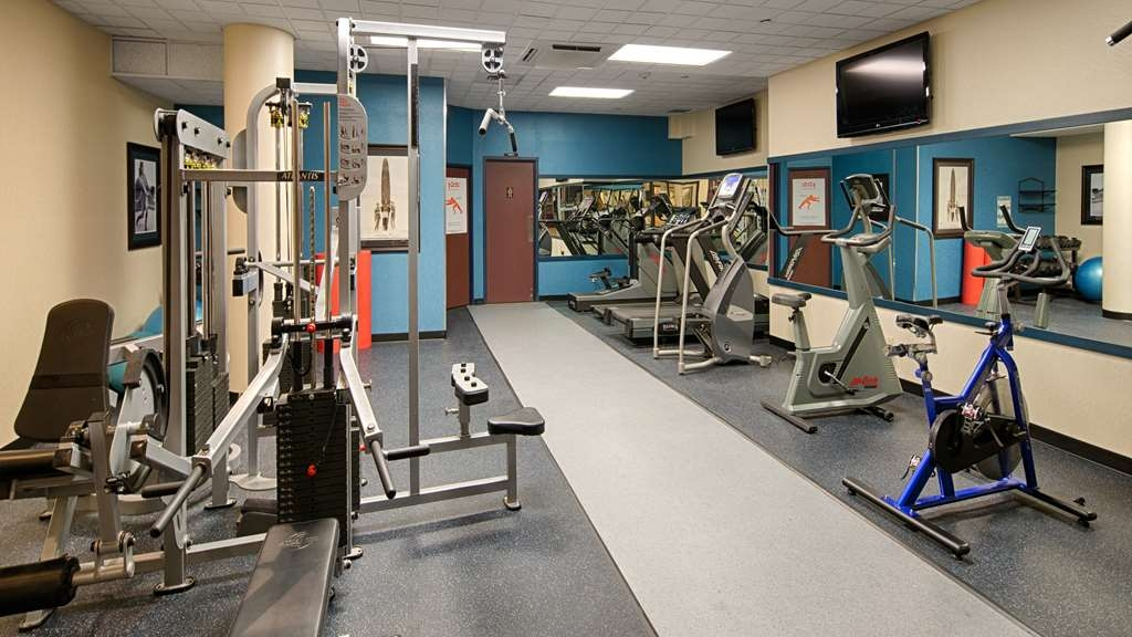 Best Western Plus Port O'Call Hotel - Sala fitness