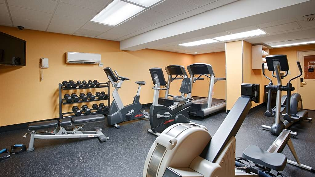 Best Western Plus Suites Downtown - Fitnessstudio