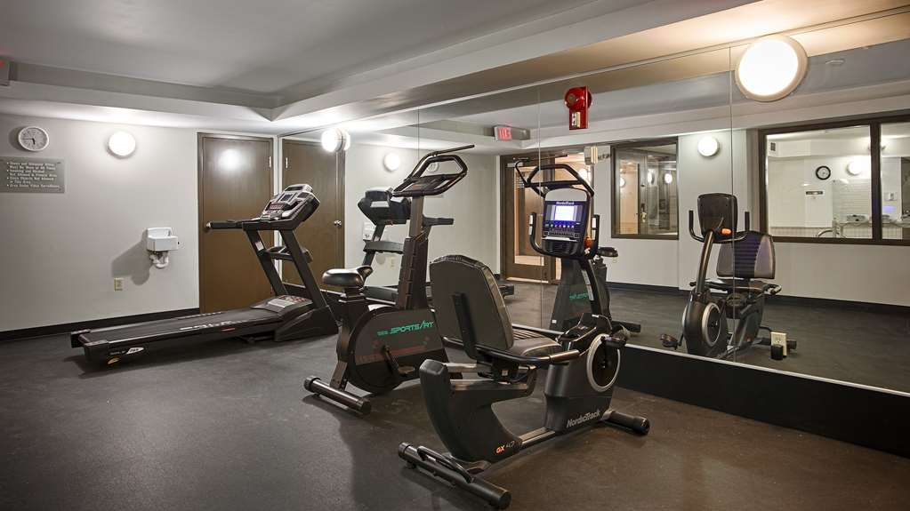 Best Western Airdrie - Get a workout using either the bike, treadmill or weight machine.