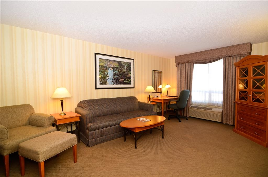 Best Western Plus Calgary Centre Inn - Our spacious and contemporary king suite will provide relaxation and comfort to the most discerning guest.