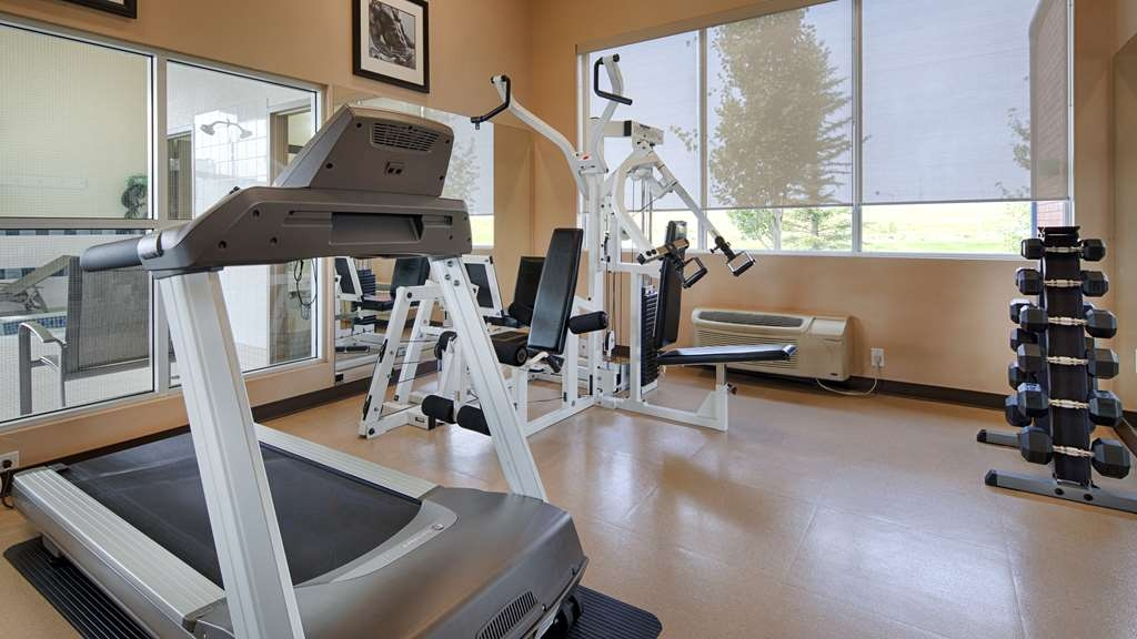 Best Western Plus Red Deer Inn & Suites - Fitness Center