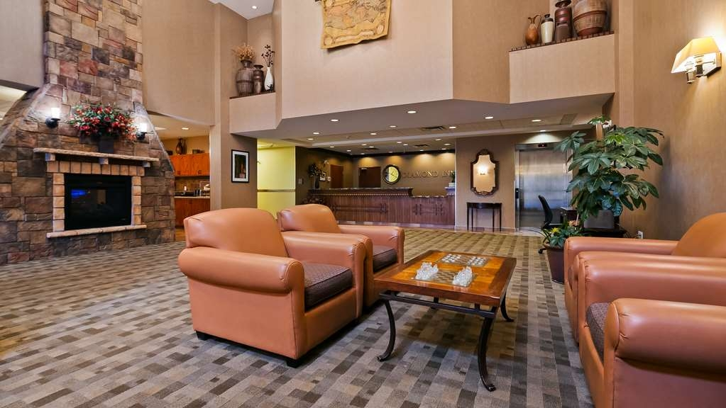 Best Western Diamond Inn - Hotel Lobby