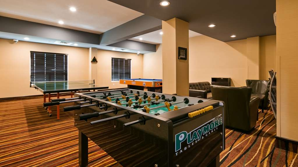 Best Western Bonnyville Inn & Suites - Our Entertainment Lounge features foosball, ping pong, and pool tables.