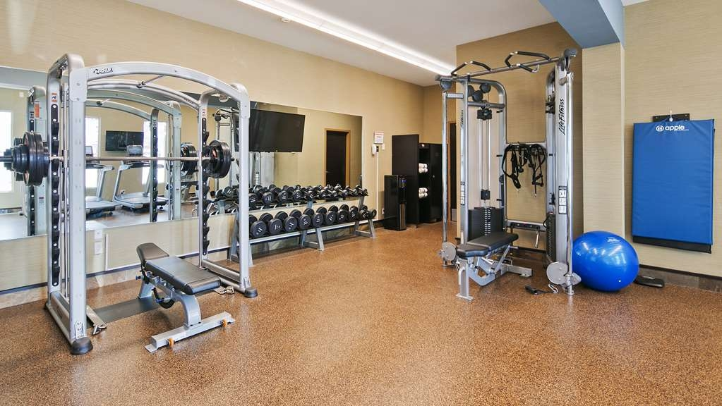 Best Western Bonnyville Inn & Suites - Keep your routine while away from home in our state of the art fitness centre!