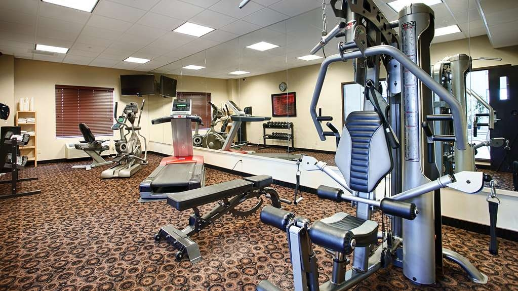 Best Western Plus South Edmonton Inn & Suites - Our fitness center is open from 6:00 a.m. to 11:00 p.m. for all your fitness needs.