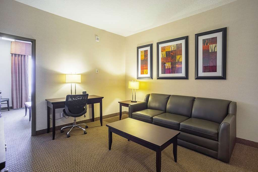 Best Western Plus The Inn at St. Albert - Use the sofa bed in our suites for extra sleeping space without the cost of an additional room.