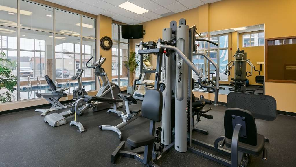 Best Western Plus Chateau Inn Sylvan Lake - Fitnessstudio