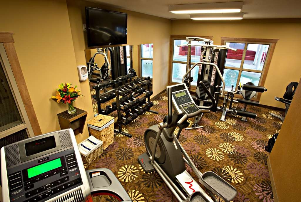 Camrose Resort Casino, BW Premier Collection - Fitnessstudio