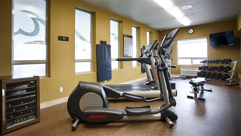 Best Western Plus Sherwood Park Inn & Suites - Fitnessstudio