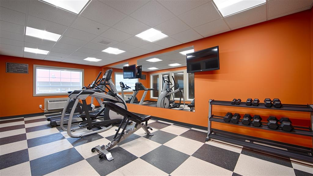 Best Western Plus Peace River Hotel & Suites - Our fitness center allows you to keep up with your home routine and is open from 6 a.m. – 11 p.m. daily.