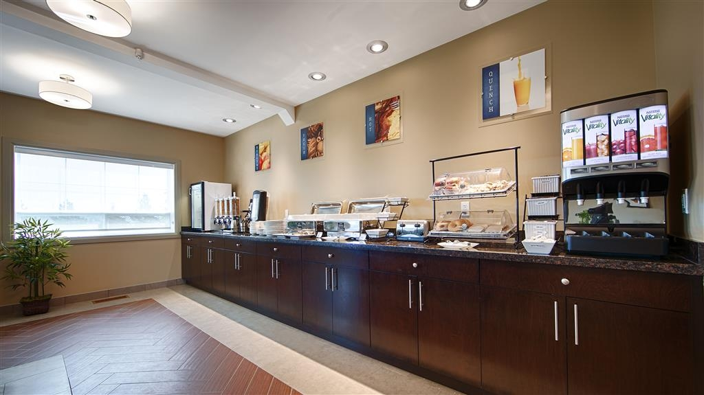 Best Western Plus Peace River Hotel & Suites - Desayuno Buffet
