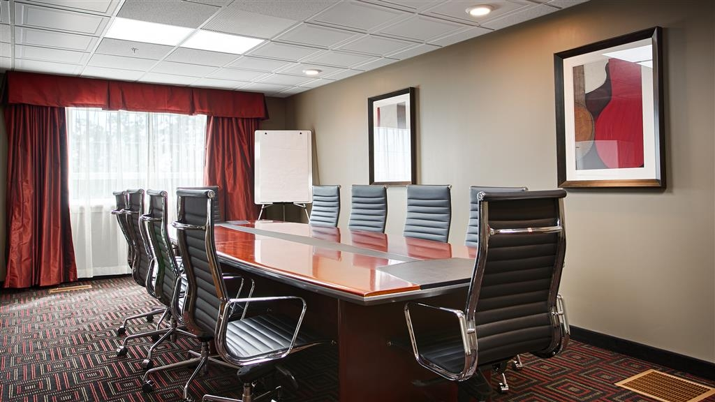 Best Western Plus Peace River Hotel & Suites - Meeting Room