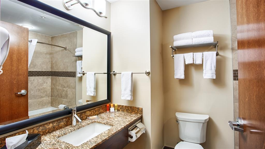 Best Western Plus Peace River Hotel & Suites - Guest Bathroom