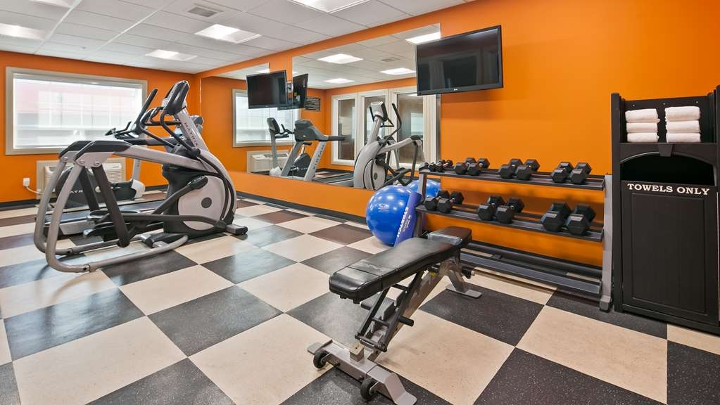 Best Western Plus Peace River Hotel & Suites - Fitness Centre