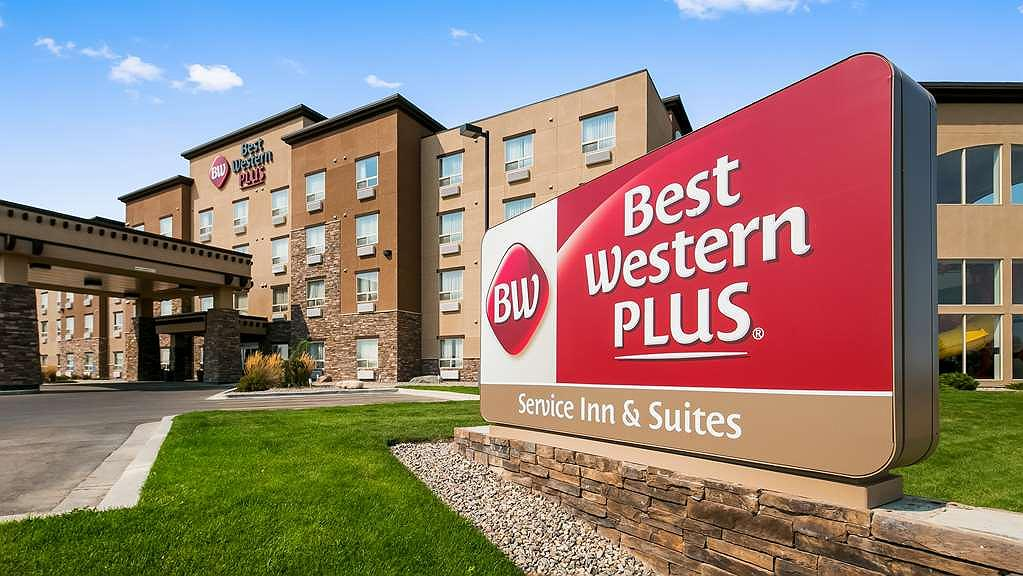 Best Western Plus Service Inn & Suites - Area esterna