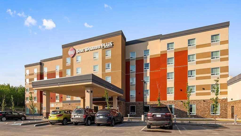 Best Western Plus Hinton Inn & Suites - Aussenansicht