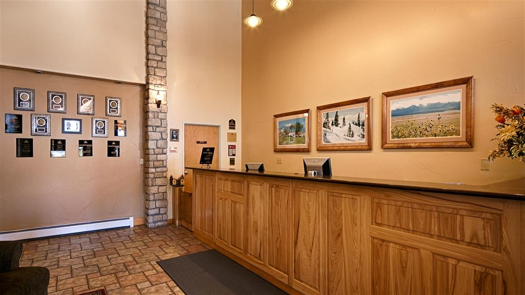 Best Western Vista Inn - reception