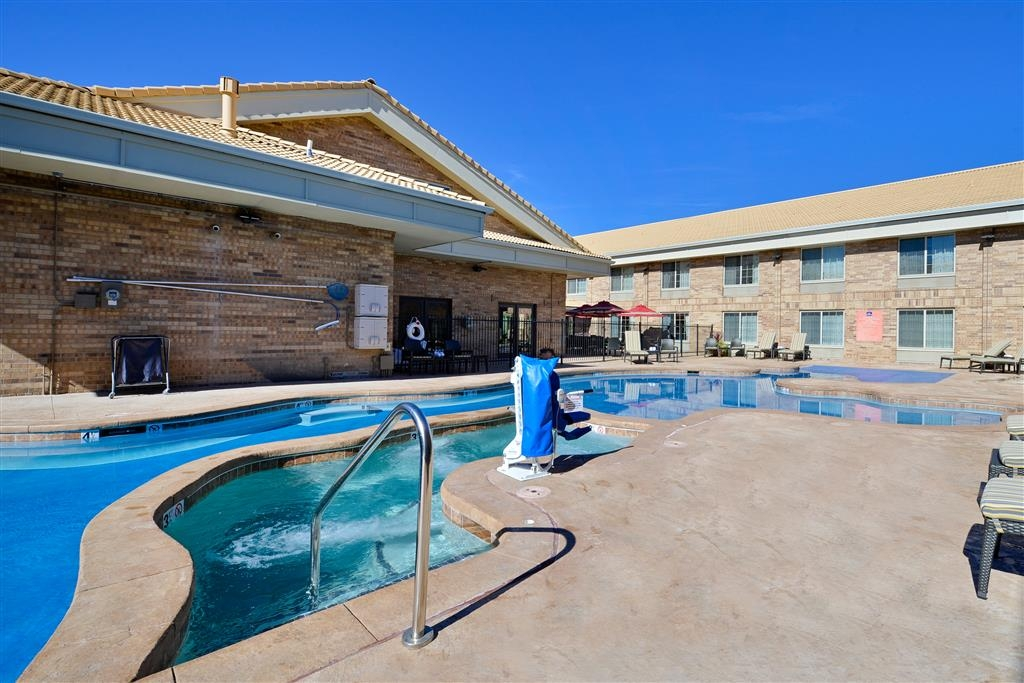 Best Western Denver Southwest - Relax in our brand new hot tub after a day of sightseeing, hiking, skiing, or business meetings!