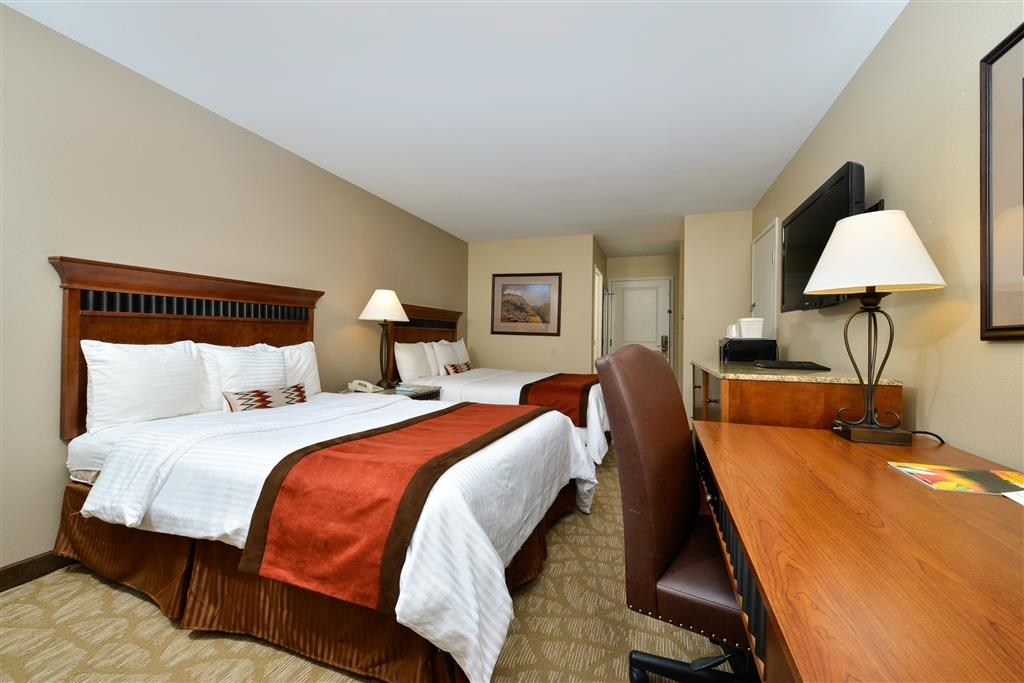 Best Western Denver Southwest - Another view of our newly renovated standard double queen guest rooms.