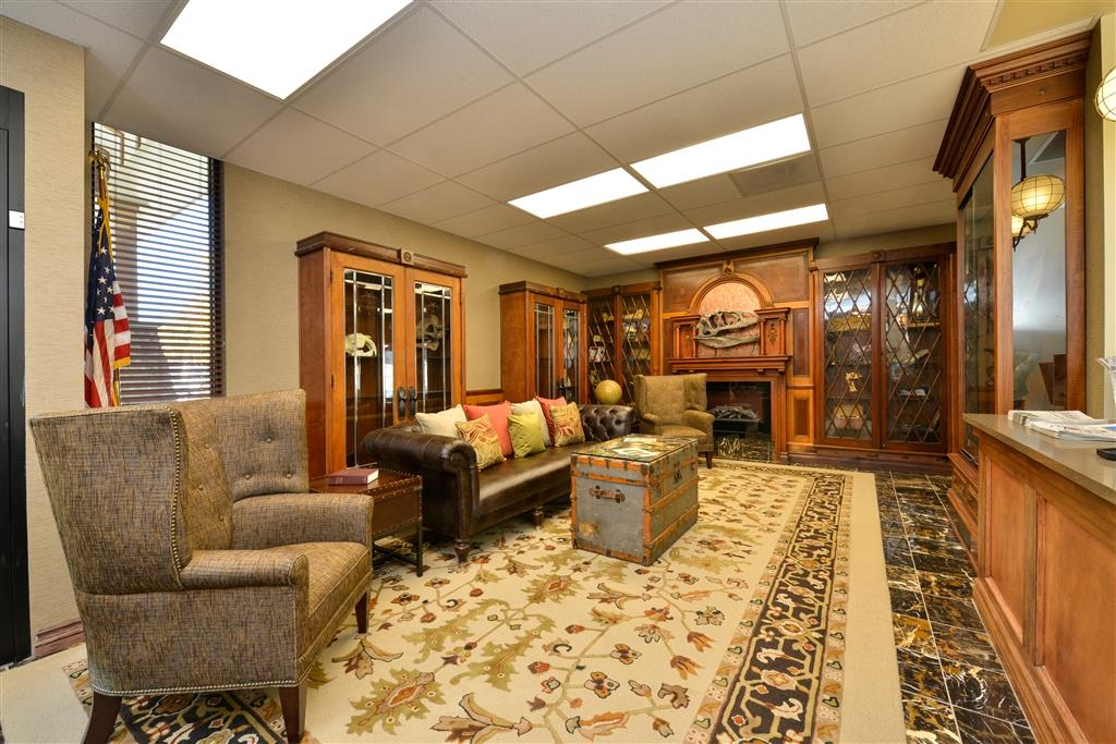 Best Western Denver Southwest - Peruse a variety of artifacts, fossils, and dinosaur bones in our newly renovated lobby.