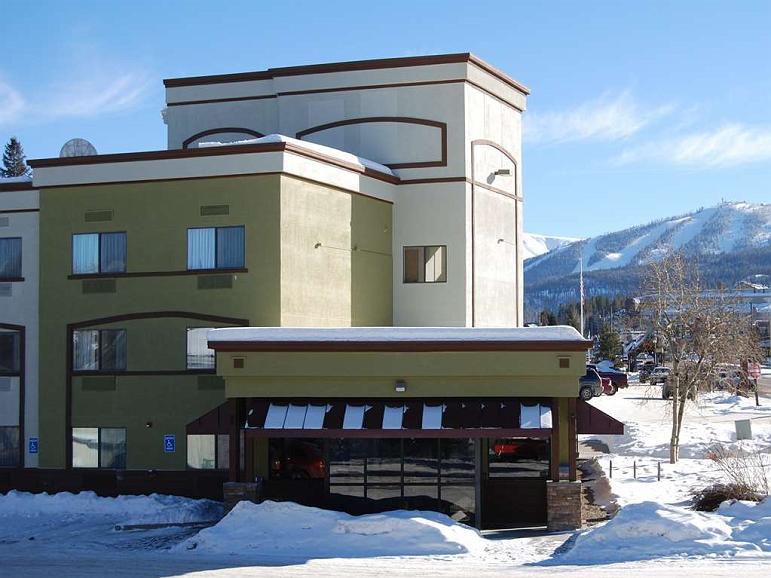 Best Western Alpenglo Lodge - Aussenansicht
