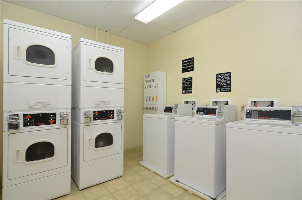 Best Western Brighton Inn - A guest laundry facility is available for your use.