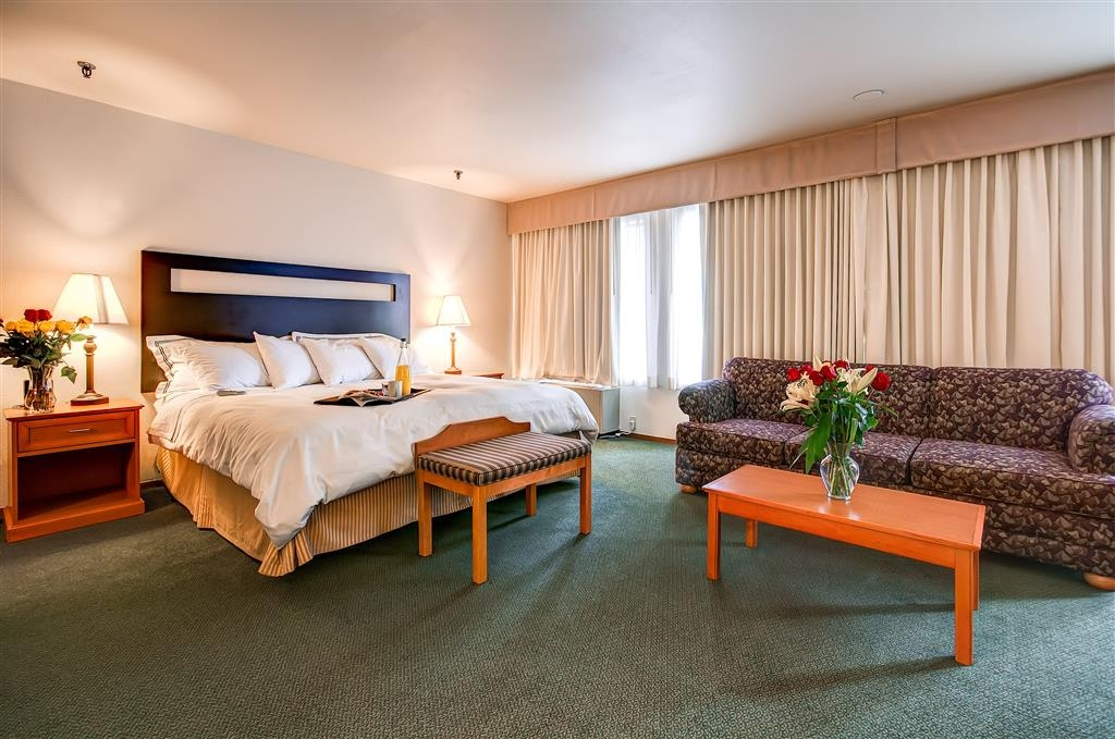 Best Western Plus Plaza Hotel - Settle in for the evening and relax in our Junior Suite.