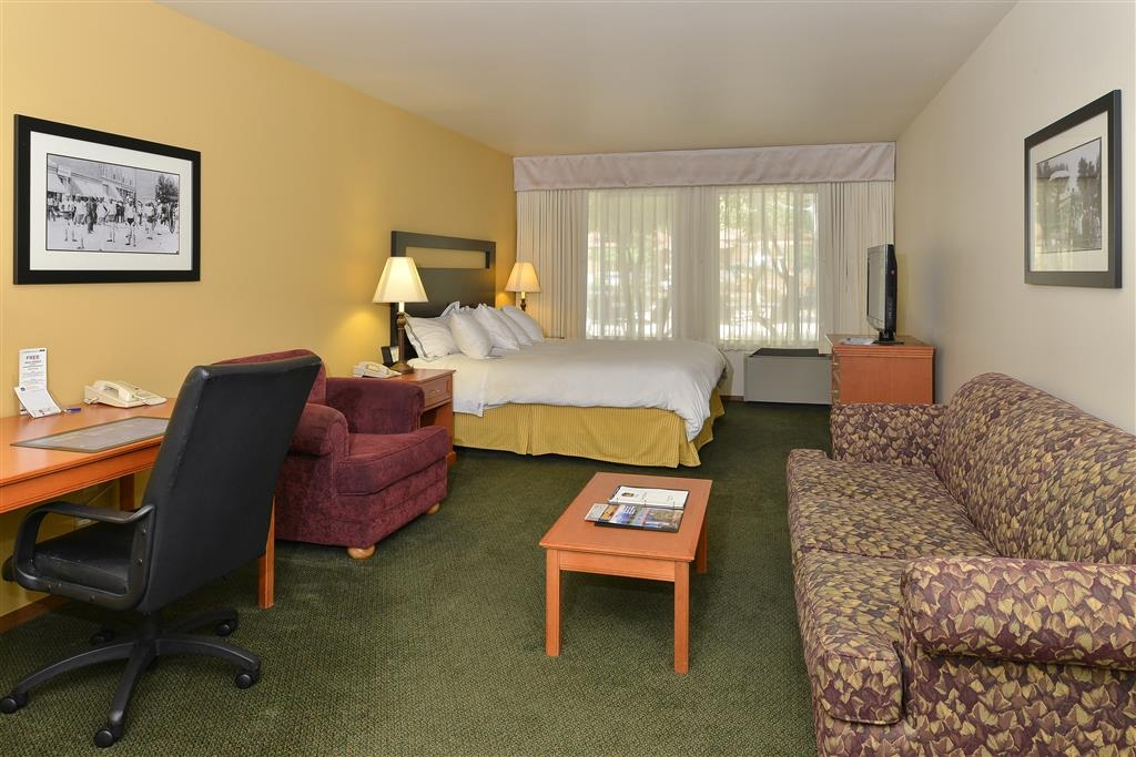 Best Western Plus Plaza Hotel - Designed for the corporate and leisure traveler alike, make a reservation for our King Guest Room.