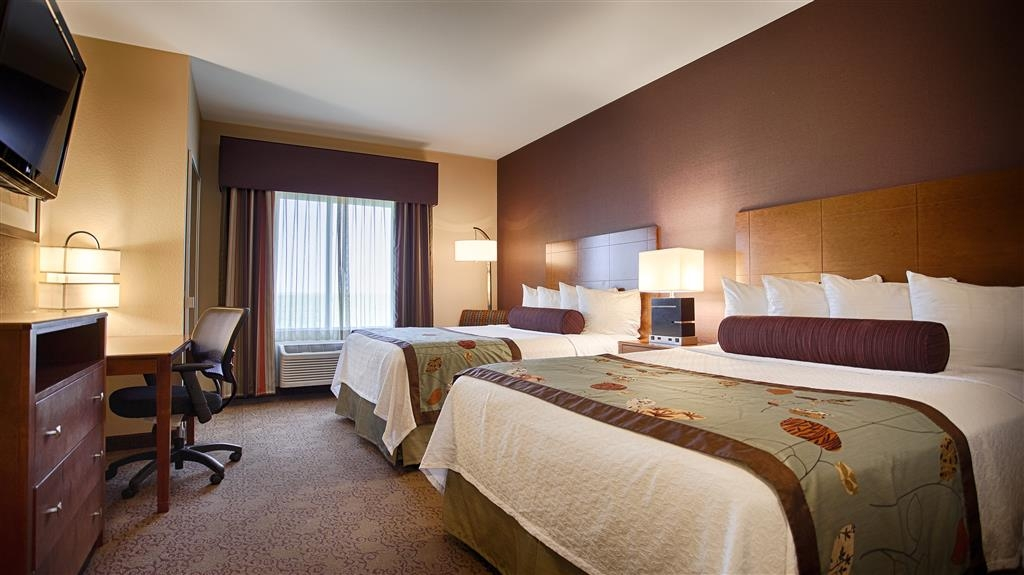 Best Western Plus Carousel Inn & Suites - Standard Double Queen Guest Room