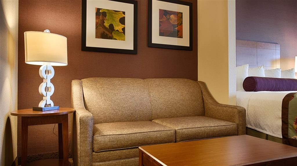 Best Western Plus Carousel Inn & Suites - The Sofa Bed In Our Suites
