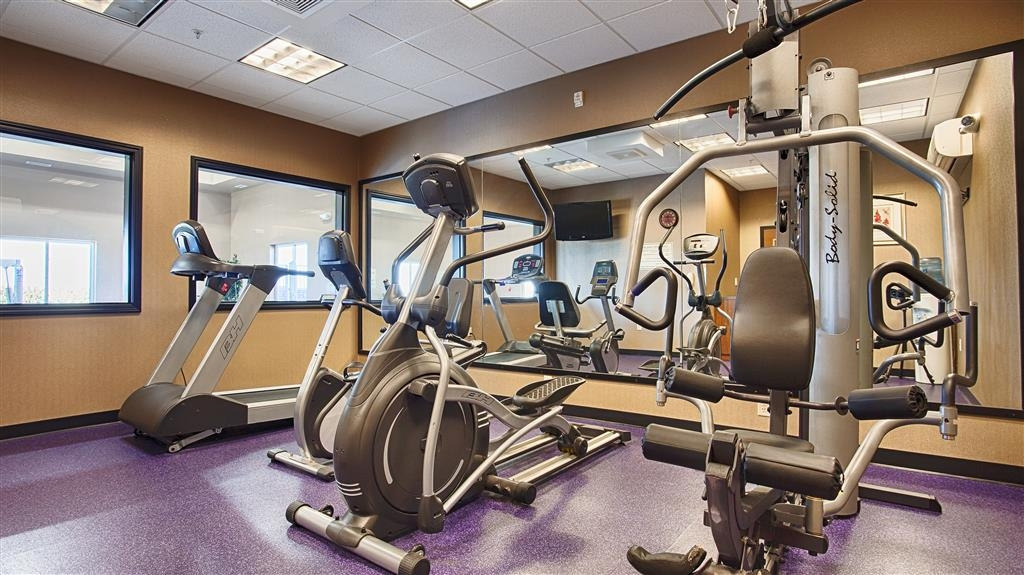 Best Western Plus Carousel Inn & Suites - exercise chambre