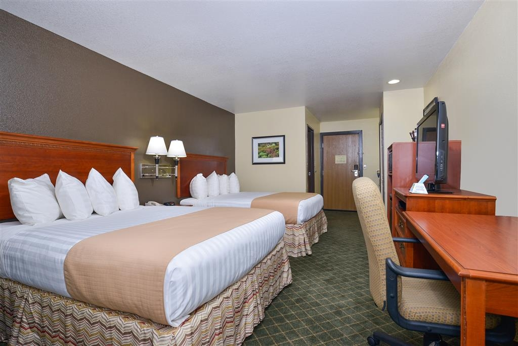 Best Western Canon City - Stay in one of our rooms with two queen beds.